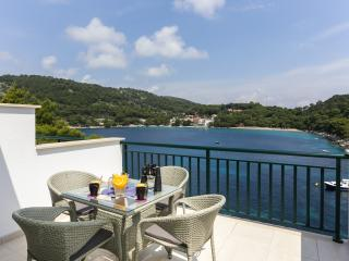 Apartments Posta - One-Bedroom Apartment with Terrace and Sea View (3 Adults) - Apartman 5, Saplunara