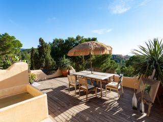 Best Studio with a view,  amazing splash pool- free Wifi, Cala Vadella
