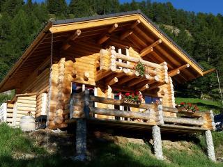 Chalet en  rondins en pleine nature à louer 95 m2, Bourg Saint Pierre