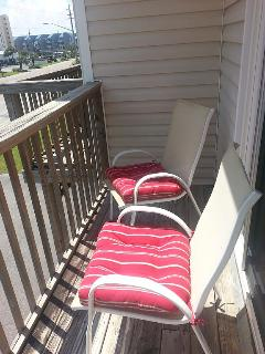 Seating outside Master Bedroom.