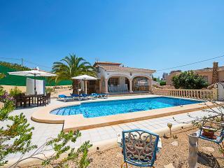VILLA MONA: 3 bedrooms, private pool, bbq, wifi, Calpe