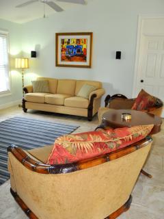 and enjoy the Tommy Bahama furnishings