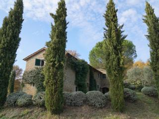 La Casina, Fabulous 180 degree views of Tuscany