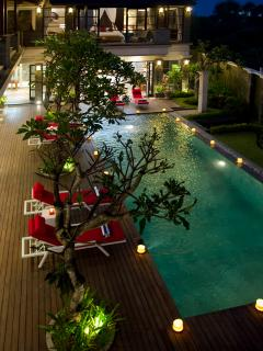 Villa Lega - Pool view from master bedroom