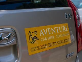 Aventure Car Hire, Baie Ste Anne