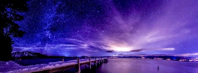 Lake Tahoe Night Sky