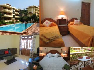 33) Spacious Apartment Regal Palms, Candolim,WiFi