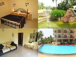 01) 1 Bed Apartment, Nazri Resort, Baga & WiFi