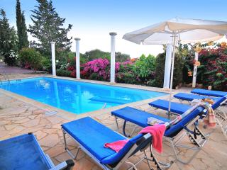 TRANQUIL villa 3 bedrm - Colorful Garden, Privacy, Pafos