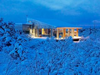 Luxury, Modern House, Hot Tub, Winter / Summer, Borgarnes