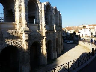 Maison de ville vue Arènes, Arles
