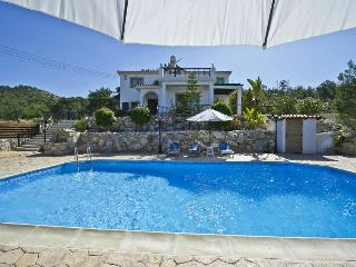 3BR Stunning Villa on mountainside, private pool, Argaka