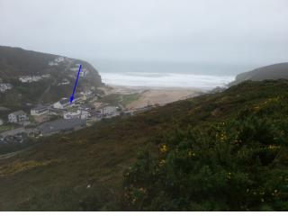 Just Beachy..... 2 bedroomed beachside apartment., Porthtowan