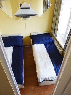 Smaller sleeping room