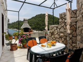 Apartments Posta - Studio with Terrace and Partial Sea View - Apartman 3, Saplunara
