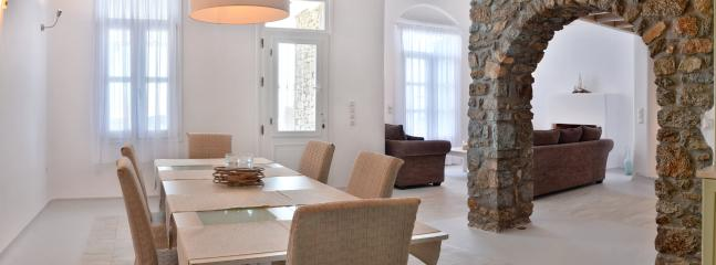 Dining area of the villa suitable to cater up to 10 guests