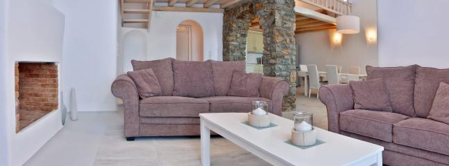 Comfortable double sofa beds can accommodate four more guests