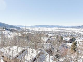 Contemporary condo w/expansive Yampa Valley views, shared hot tub, private patio