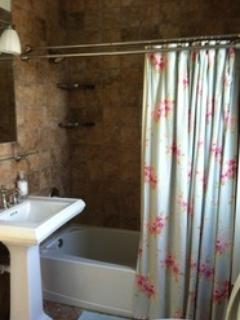 In-suite to Bedroom #2 - tub/shower combo