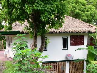 Studio in green setting near beach, Puerto Galera