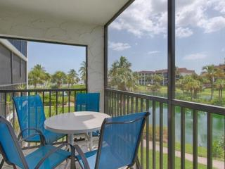 Enjoy breakfast or evenings on the comfortable screened lanai with lovely views of the gulf and lagoon.
