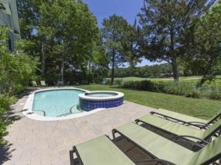 Decorator Home with 2 Masters,  Golf & Lagoon views - 10 Minute Walk to Ocean
