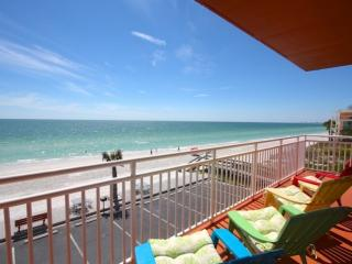 Corner Unit Directly on a Quiet and Private Section of Sunset Beach with an Awes