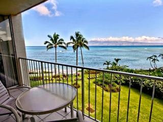 Great Ocean views + Spacious + Lanai + Free Parking and WiFi