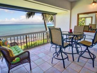 *Mahinahina Beach Oceanfront One Bedroom - Lahaina