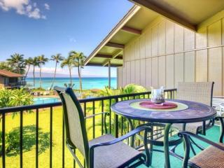 Amazing views from this Two Bedroom / Two Bath Oceanfront Condominium, Napili-Honokowai