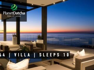 PlanetDatcha Holiday Villas 3 - 6 Bedrooms w Pool, Camps Bay