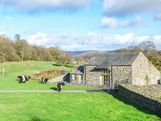 MUNGEON BARN luxury accommodation, hot tub, woodburning stove, fabulous views in Backbarrow Ref 923450, Ulverston