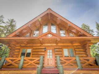 maison de bois rond, Val David