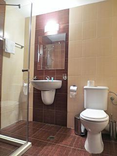 Typical bathroom in BRT