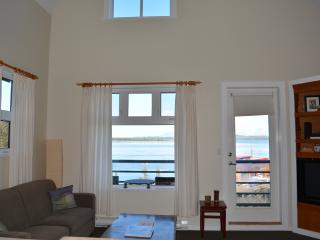 Waterfront Top Floor End Unit Condo at Fred Tibbs