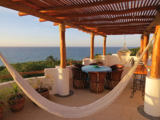Roof Terrace with Dining, Hammock, Swings, BBQ & Kitchenette