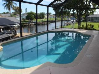 Gulf Access South East Canal Home with Heated Pool