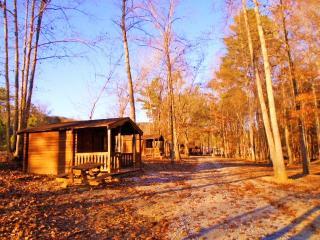 Broken Eagle Recreation Camping cabin #6 near barn