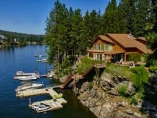 Bear Paw Mountain Lodge | Luxury waterfront, Post Falls