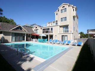 Rare 8 BR Home Sleeps 16 w/Heated Pool,1 House to Ocean., Bethany Beach