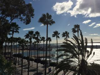 Skol 136 Beachfront Central Location with pool, views and WIFI, Marbella