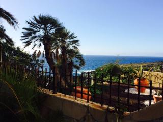 T2, Beachfront house, garden and sea view, WiFi, Costa Adeje