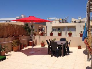 Casa Mia,large terrace apartment at few steps from the beach, Sant Josep