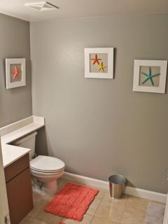 Bunk area bathroom
