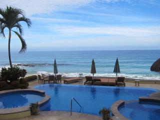 Beachfront Condo With Huge Private Courtyard, Puerto Vallarta