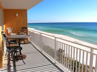 Splash Resort 201 East- 3BR-*10%OFF Apr1-May26*Spectacular Gulf Front Views-huge Balcony!, Panama City Beach