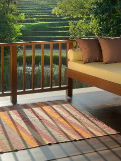 Puri Bawana - Master suite balcony