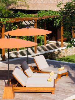 Puri Bawana - Pool chairs