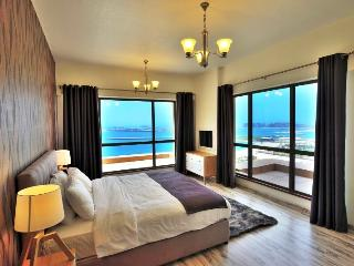 Vacation Bay Sea View 2BR Apartment in JBR- 93762, Dubái