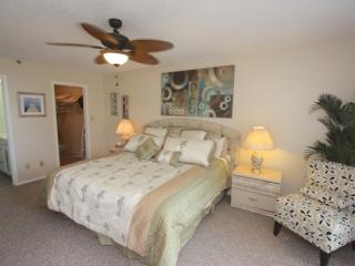Master Bedroom with King Bed/Private Bathroom/Cable TV/Access to Balcony